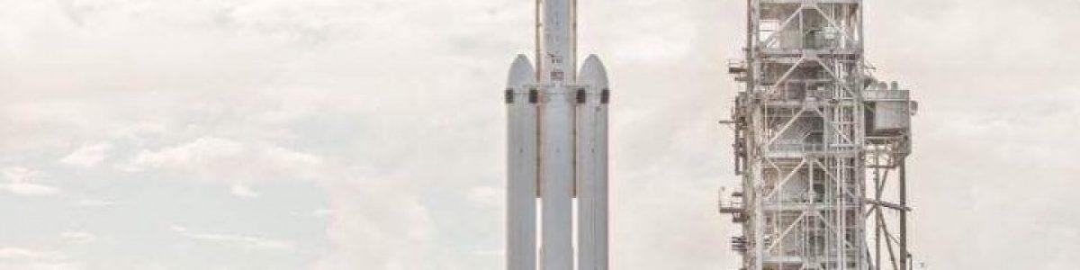 Já há data de lançamento para o Falcon Heavy da SpaceX