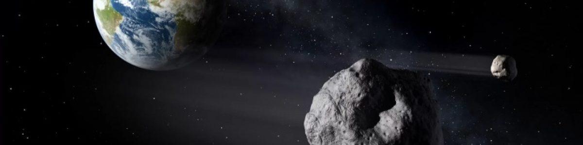 Asteroide gigante passa de surpresa entre a Lua e a Terra