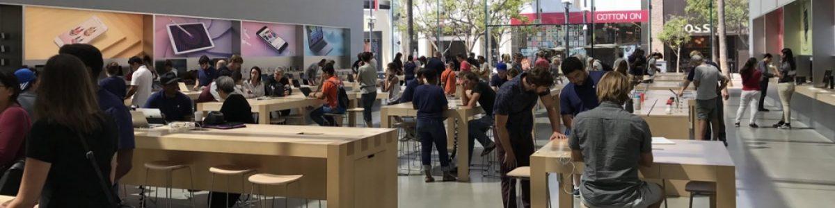 Ladrões roubam 19 mil dólares em iPhones da Apple Store