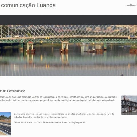 Projectos de Vias de Comunicação