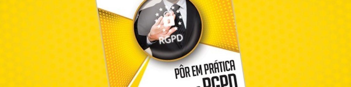 """Passatempo: Temos 3 livros """"Pôr em prática o RGPD"""" da FCA para oferecer"""