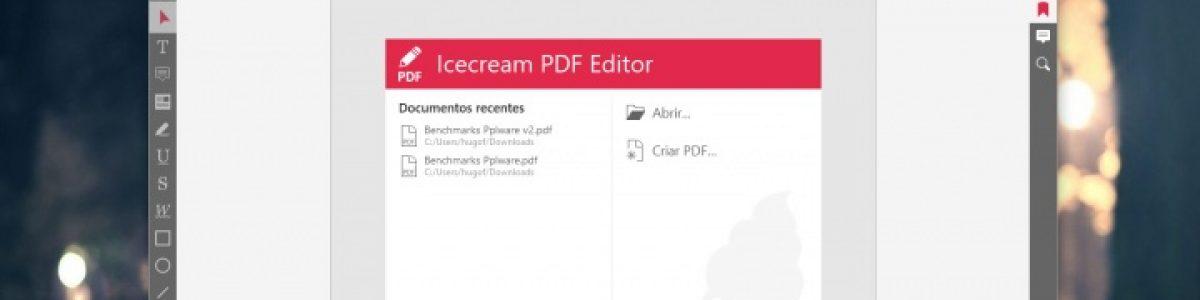 Icecream PDF Editor – provavelmente a melhor ferramenta gratuita para editar PDFs