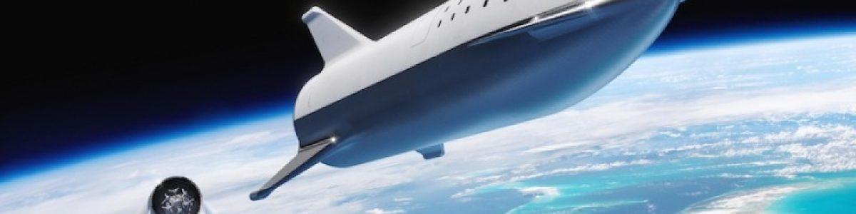 Elon Musk revelou as primeiras images reais do SpaceX Starship de testes
