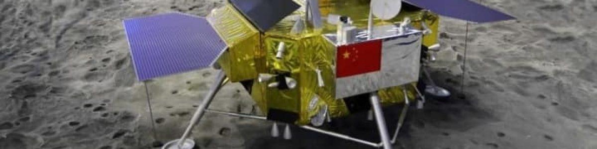 """China foi o primeiro país a aterrar no """"lado negro"""" da Lua"""
