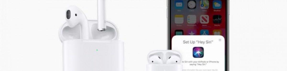 Chegaram os novos AirPods da Apple com um novo chip e carregamento sem fios