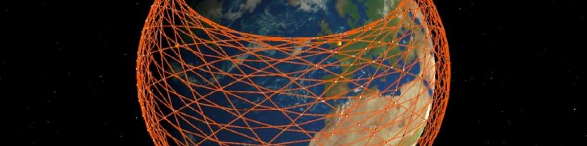 SpaceX irá lançar os seus primeiros 60 satélites para criar uma rede espacial de nome Starlink