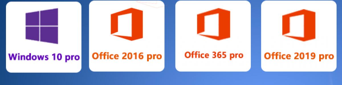 Black Friday Sale: Windows 10 pro 9,76 € Office 2019 Pro 46,10 €