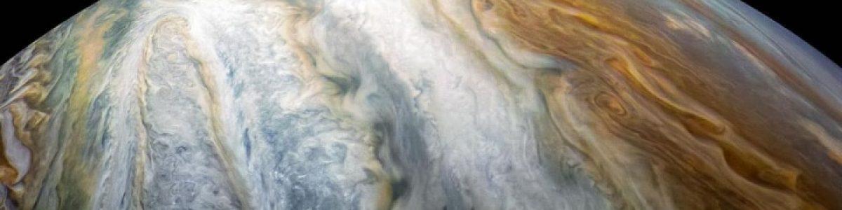 Captada imagem de uma impressionante tempestade em Júpiter (vídeo)