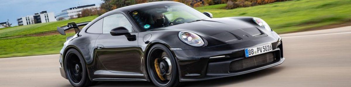 Porsche 911 GT3 2021 4.0L, a chegar com caixa manual de 6 velocidades