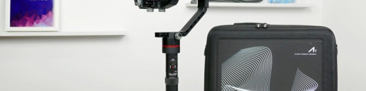Accsoon A1, um gimbal para câmaras a sério (unboxing e configuração)