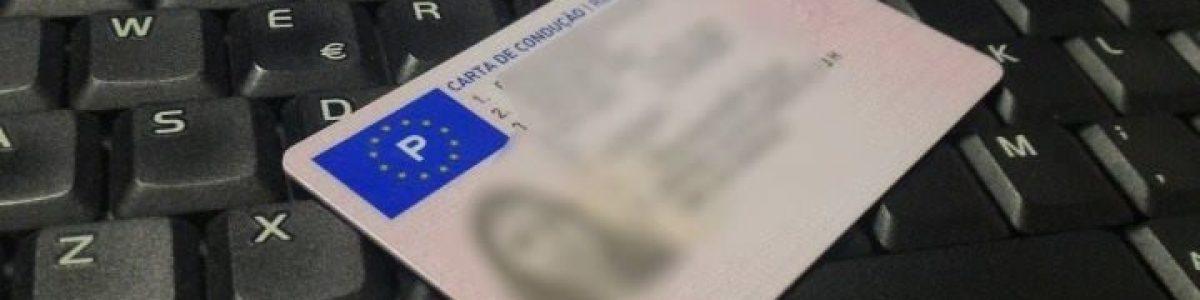 Há um site em Portugal que vende cartas de condução