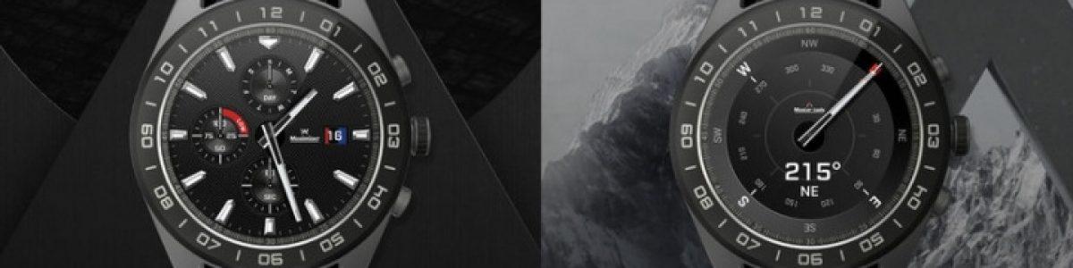 LG não desiste e lança o Watch W7, o seu primeiro smartwatch híbrido